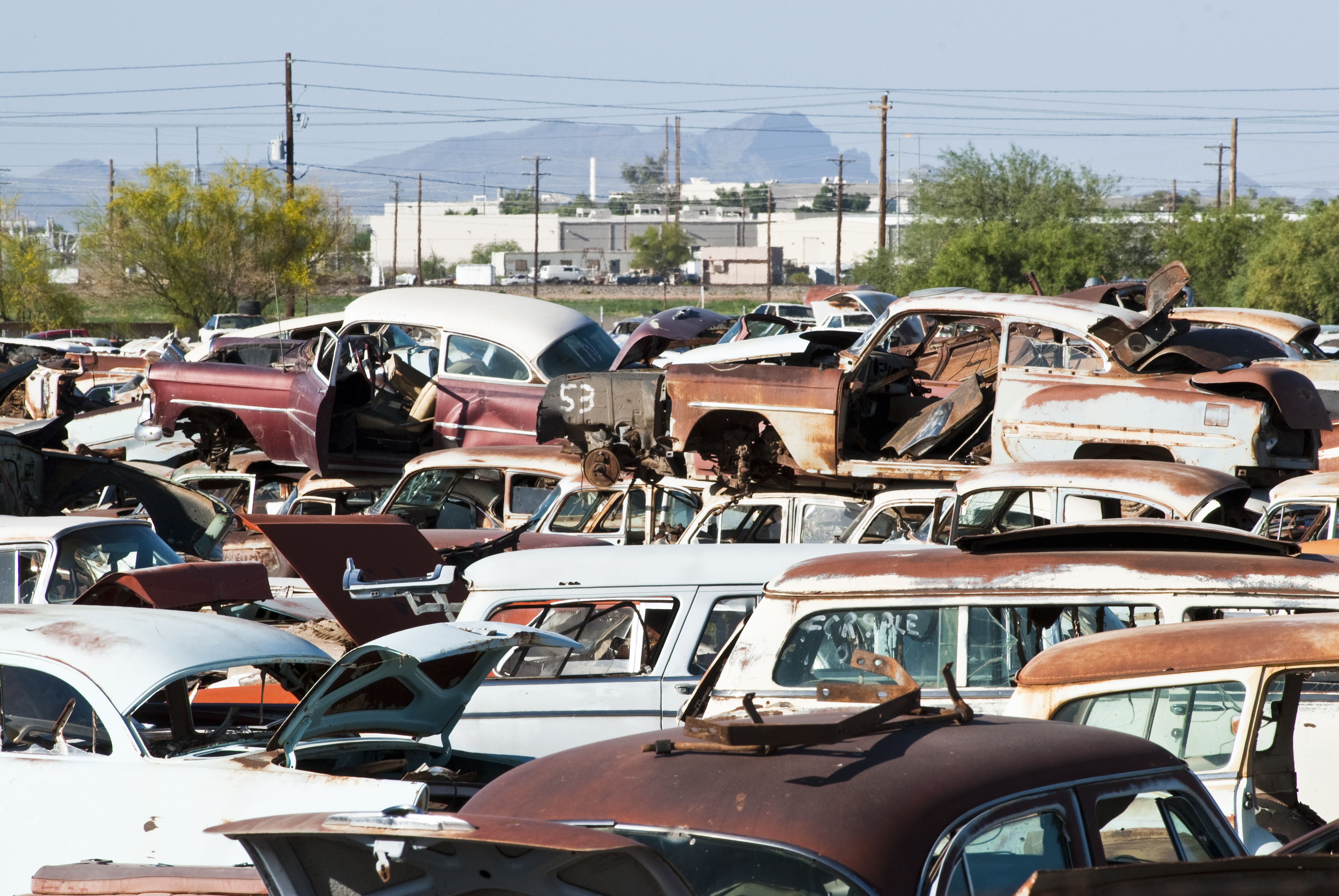 Salvage Yards Are Public Treasure Chests | Auto Insurance PUC